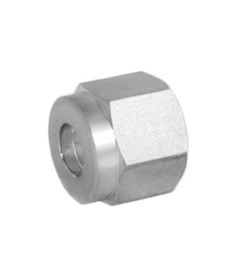 Compression fitting stainless steel nut Tetrapy