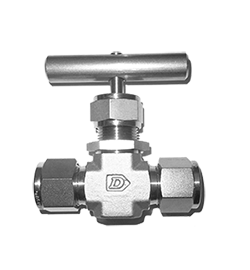 Compression fitting stainless steel needle valve Tetrapy