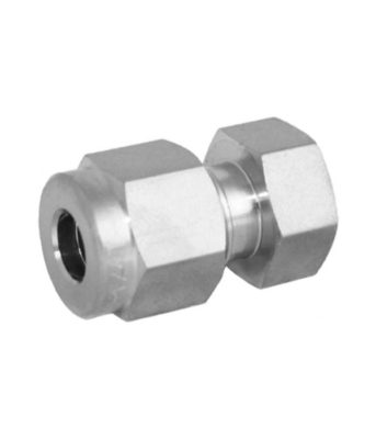 Compression fitting stainless steel cap Tetrapy
