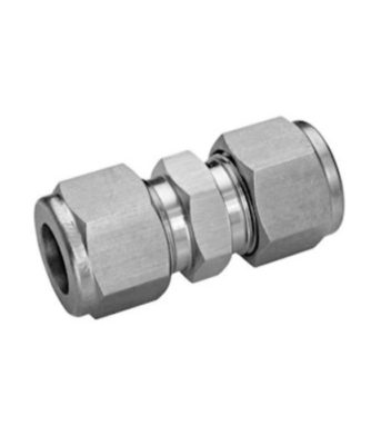 Compression fitting stainless steel direct unionTetrapy