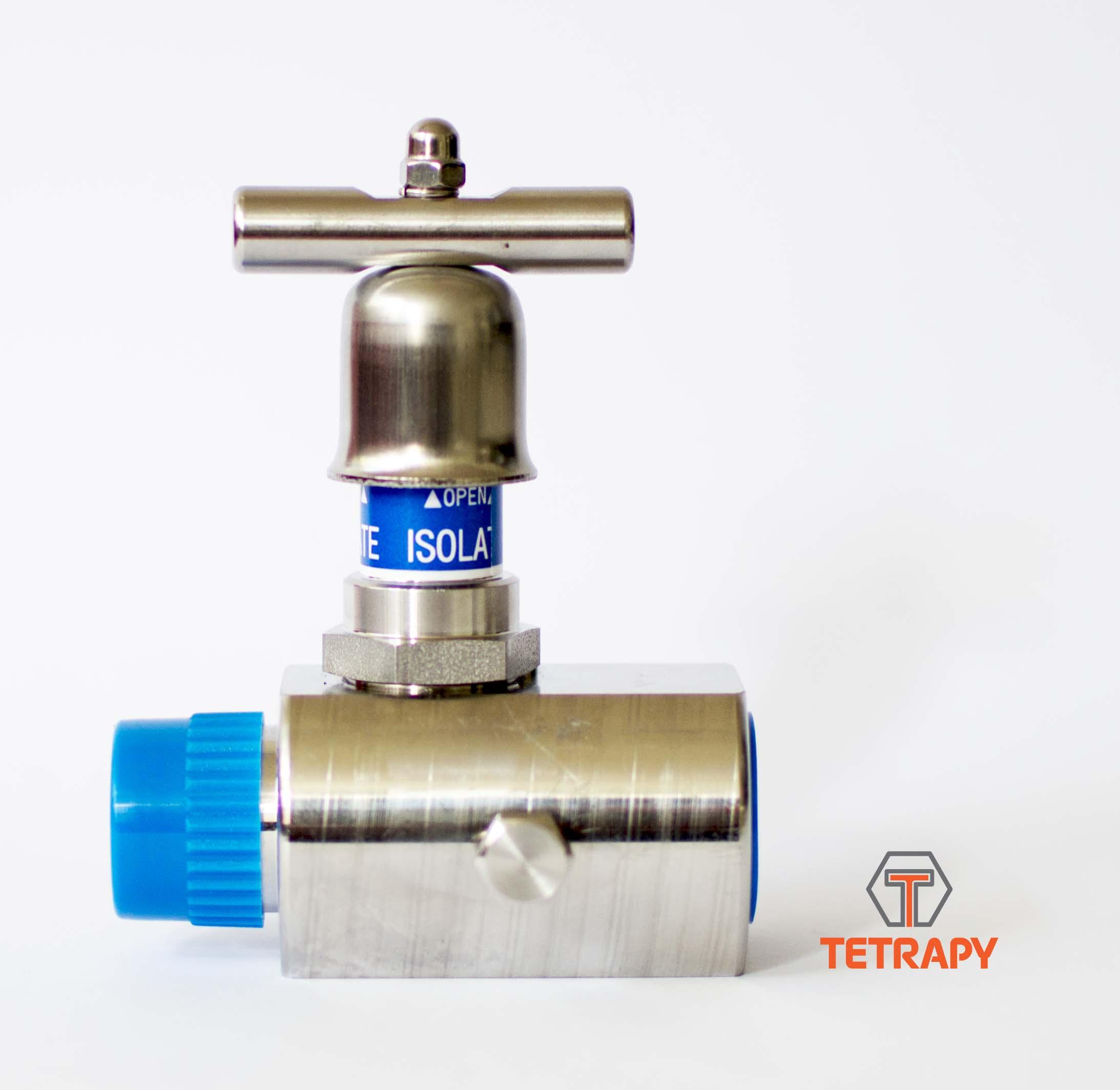 stainless steel needle valve MXF Tetrapy